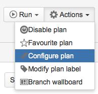 Bamboo: Configure Plan Option