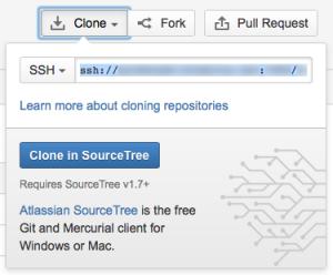 Stash: SSH Clone URL